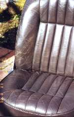 Click to enlarge - XJC seat before repair